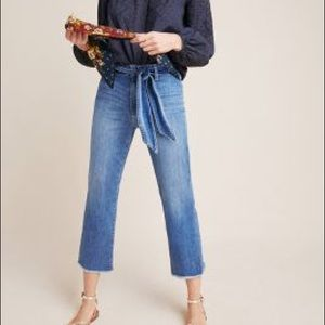 Joe's Jeans The Jane High Rise Straight Crop Jeans